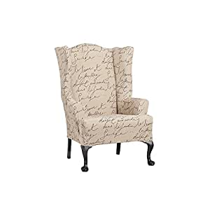 Amazon Com Waverly Sure Fit Stretch Pen Pal Wing Chair