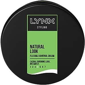 Lynx Hair Styling Cream Natural Look Flexible Control, 75ml