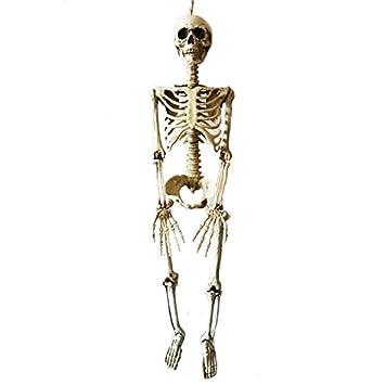 36inch 90cm halloween skeleton 100 plastic children size skeleton for halloween decorations - Halloween Skeleton