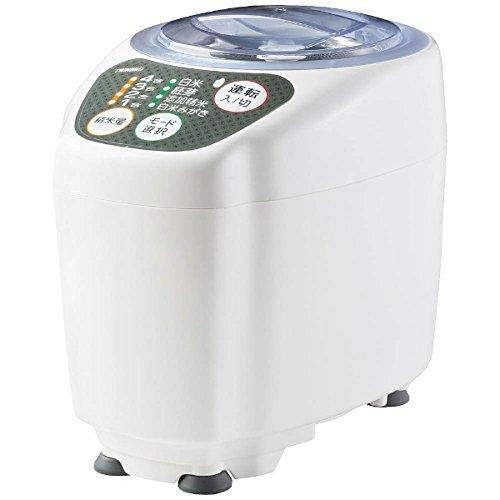 ツインバード 精米御膳 コンパクト精米器 ホワイト MR-D572W