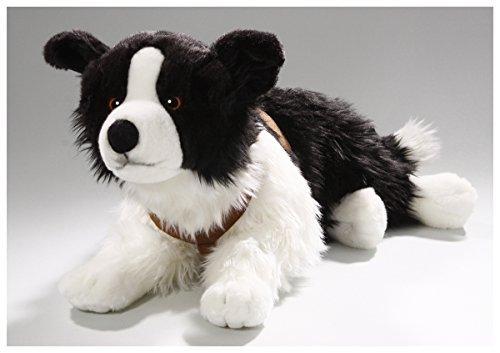 - Border Collie Lying, 24 inches, 55cm, Plush Toy, Soft Toy, Stuffed Animal 3230
