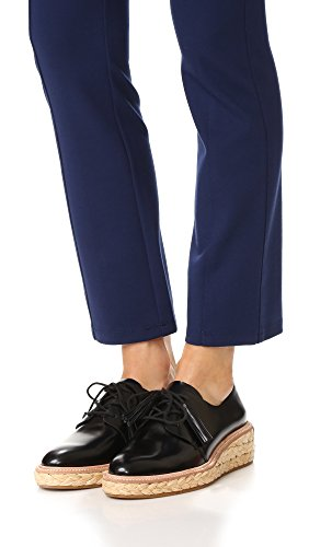Loeffler Black Randall Natural Oxford Callie Women's wqArfwPF