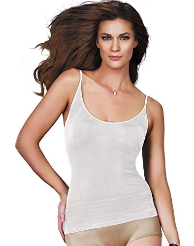 UPC 014671240894, Maidenform® Women`s Self Expressions® Seamless Cami,00238,S,WHITE