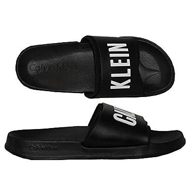Calvin Klein Intense Power Pool Sliders, Black