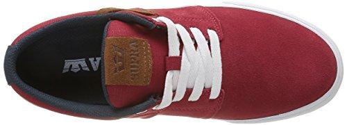 Supra STACKS VULC II - Zapatillas Hombre Rojo - Rot (RED / NAVY - WHITE 649)