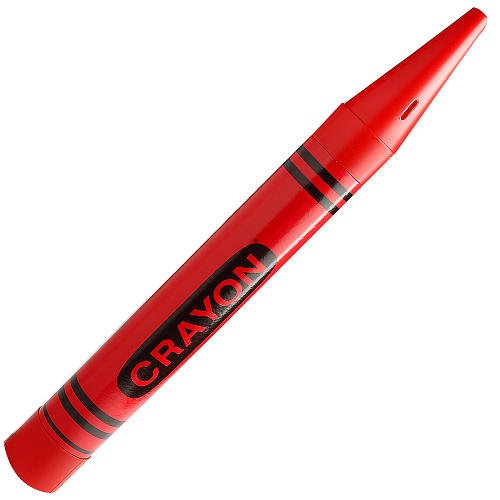 Red Giant Crayon Bank by Fantazia Company