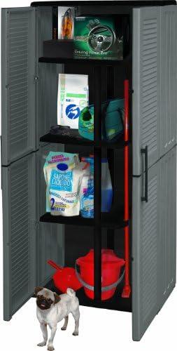 Art Plast E71/PS Gabinete De Plástico, Con Alta Portascope, Económico, Color Gris/Negro: Amazon.es: Bricolaje y herramientas