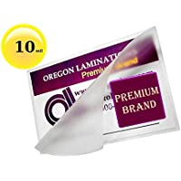 Hot 10 mil Letter Laminating Pouches 9 x 11-1/2 [Pkg of 50] Clear