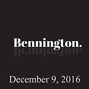 Bennington, Roy Wood Jr., December 9, 2016 Radio/TV Program