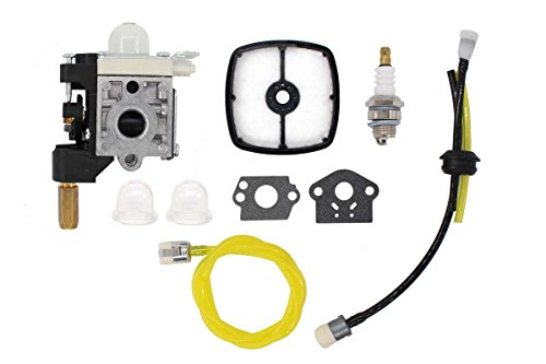 Carburetor Air Filter Fuel Line Spark Plug Tune-Up Kit For Echo PE-200 SRM-210 SRM-230 SRM-225 GT-200R GT-230 GT-231 PAS-230 PAS-231 PE-230 Weeder Weed Eater String Hedge Trimmer Brushcutter Edger
