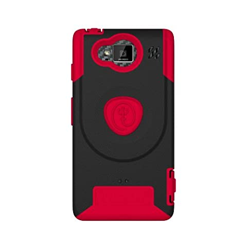 TRIDENT Aegis Case for Motorola Droid Razr Maxx HD - Retail Packaging - Red (Droid Razr Otterbox Case)
