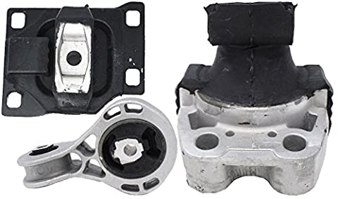 Engine Motor and Trans Mount Set of 3 for 2008-2011 Ford Focus 2.0L Compatible with A5312 A5322 - Ford Focus Engine Mount