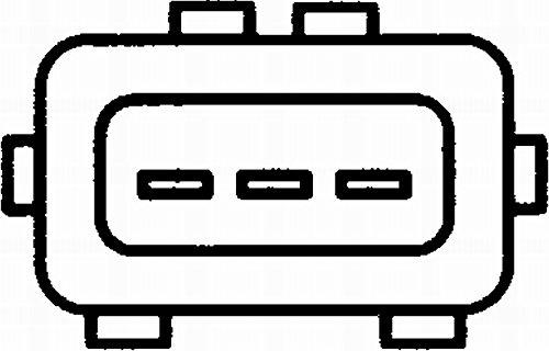 N/úmero de conexiones 3 HELLA 6PU 009 110-001 Generador de impulsos cig/üe/ñal