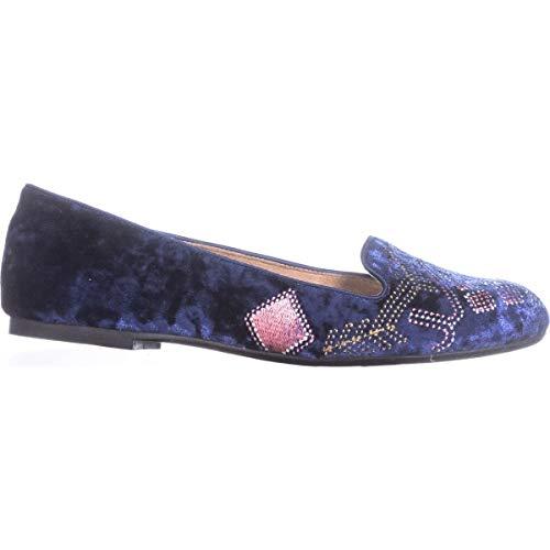 Deep Plates Alysonn2 Style Co Femmes amp; Velvet Blue Chaussures qnqpSvw