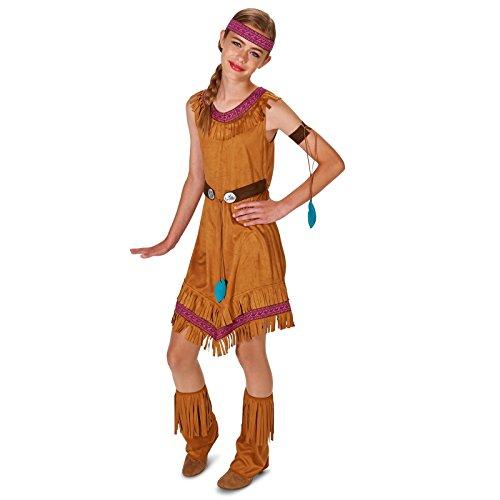 [Native Princess Girl Tween Dress Up Costume 5-9] (Pocahontas Costumes Kids)