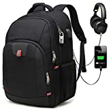 Huntvp Travel Laptop Backpack Fit for 17 Inch Laptop and Notebook Extra Large
