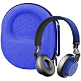 Hard Carrying case for Jabra Move/Jabra Move Style Wireless Stereo Headphone (Blue)