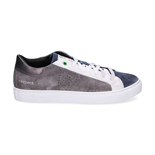 WOMSH Sneakers Uomo S270254 Camoscio Grigio