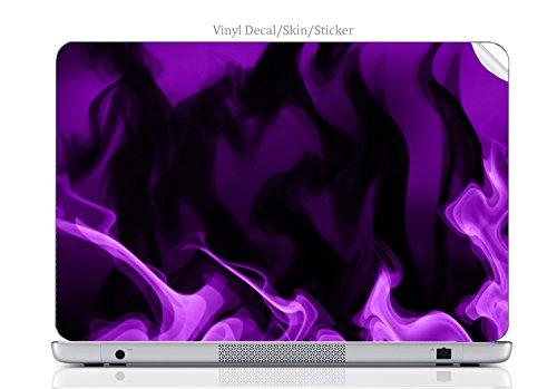 Laptop VINYL DECAL Sticker Skin Print Purple Smoke fits Chromebook 550