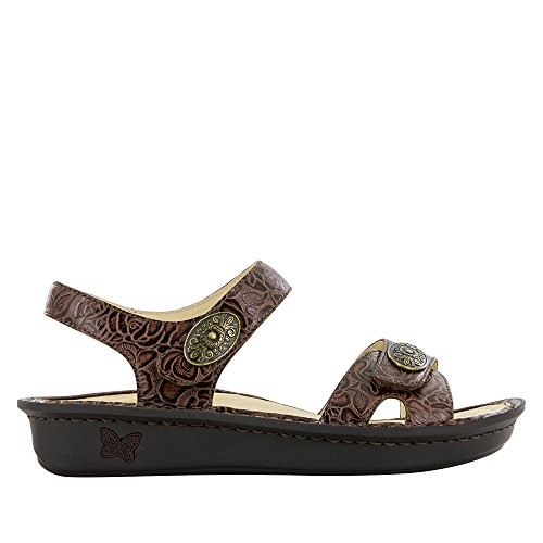 Image of Alegria Womens Vienna Sandal Cowgirl Tobacco Size 38 EU (8-8.5 M US Women)