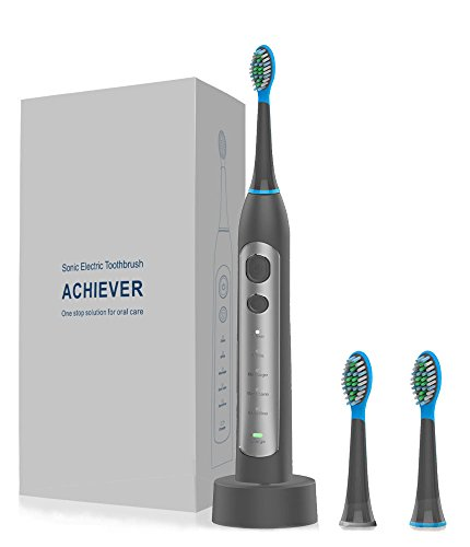 UPC 656699996287, Electric Toothbrush, Lifante Sonic Power Rechargeable Electric Toothbrush with Auto-Timer 5 Modes Waterproof