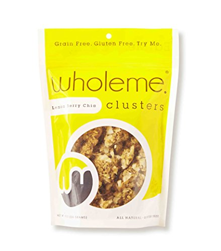 UPC 851515005031, WholeMe Clusters Lemon Berry Chia, 8oz Bag