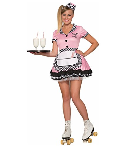 Forum Novelties 1950s Diner and Waitress Inspired Trixie