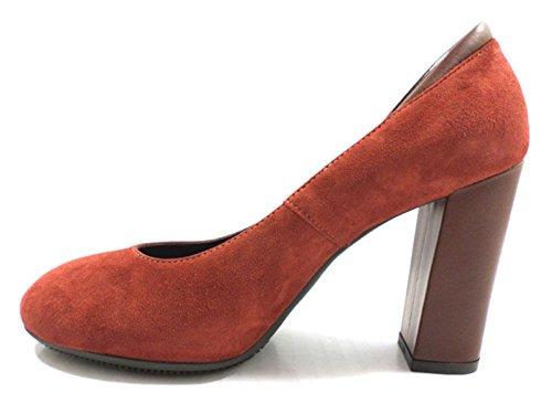 7 US 5 HOGAN 5 Red 37 EU AZ126 Pumps Shoes Suede UBqBRfP