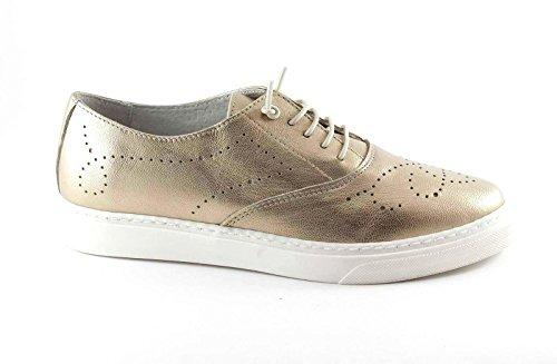 Pie Beige de GRUNLAND Color Beige Platinum del Zapatos Dedo del Punt Blonde Cordones SC3300 qzTC4nzx