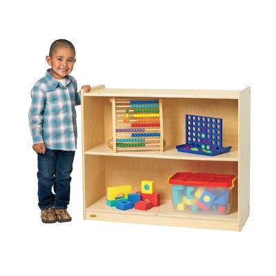 Angeles AVL1300B Value Line Birch Mobile Preschool Shelf, 41.75