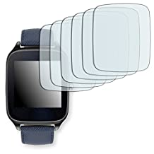 6x Golebo Anti-Glare screen protector for Asus ZenWatch 2 (WI501Q) 1,63 Zoll (Anti-Reflex, Air pocket free application, Easy to remove) (intentionally smaller than the display due to its curved surface)