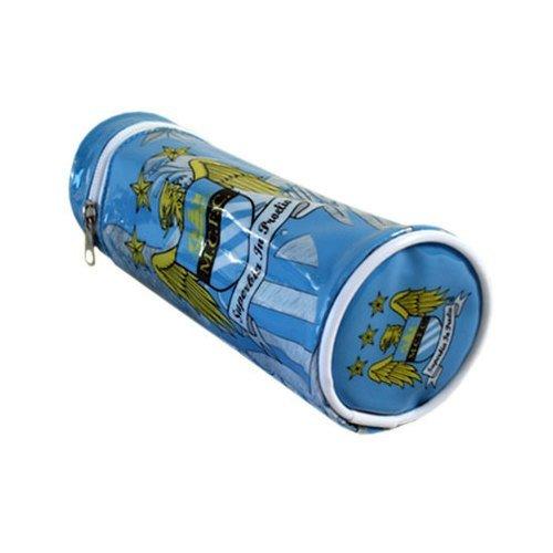 Manchester City Barrel Pencil Case