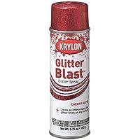 Krylon K03806 Glitter Blast, Cherry Bomb by Krylon