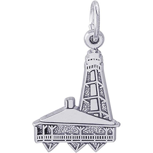 Rembrandt Charms Sanibel Island Lighthouse  Florida Charm  Sterling Silver