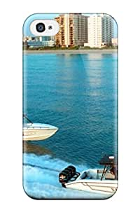 New Arrival Cover Case With Nice Design For Iphone 4/4s- Boat S