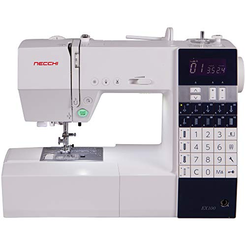 (Necchi EX100 Sewing Machine, White)
