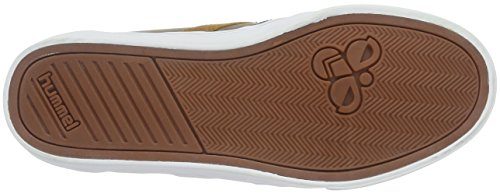 Hummel Slimmer Stadil Duo Oiled Low, Zapatillas Unisex Adulto Beige (Fungi)