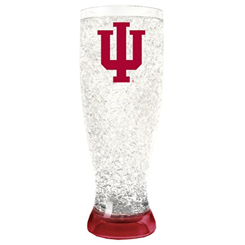 NCAA Indiana Hoosiers 16oz Crystal Freezer Pilsner