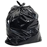 VIBHU Plastic Dustbin Bags (16x20-inches, Black)