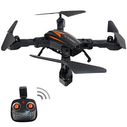 CSFLY Mini Drone Wifi 2MP HD Cámara plegable RC Drone APP Control ...