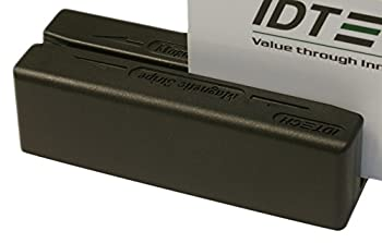 Idtech IDMB-334133B MiniMag II MagStripe Reader, Track 1, 2, and 3, USB Keyboard Emulation, Black