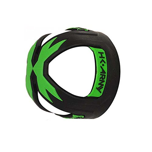 HK Army VICE Tank Grip Cover - Fits Carbon Fiber Tanks - Black Neon Green by HK Army