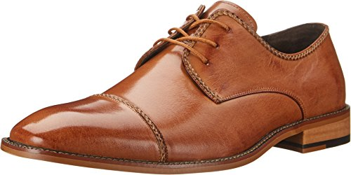 Stacy Adams Men's Brayden Oxford, Tan, 10.5 M (Tan Mens Shoes)