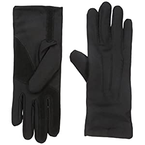 Isotoner Women's Stretch Classics Fleece Lined Gloves, black, One Size