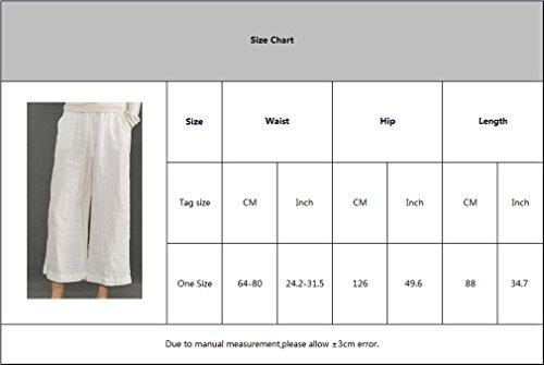 Elastique Leggings Solide Pantalons Mode Bureau Cheville OL Taille Casual Longueur Vin Large Pantalons pour Femme Jambe Couleur Lache Rouge Pantalon Confortable UXxqP6I