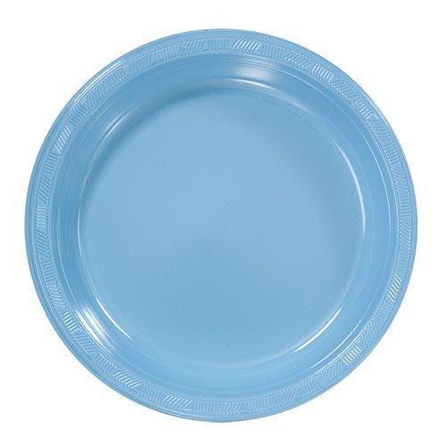 light blue dinner plates - 2