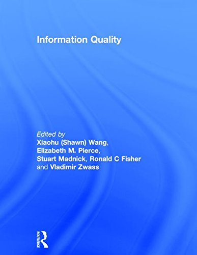 Information Quality (Advances in Management Information Systems) by Routledge