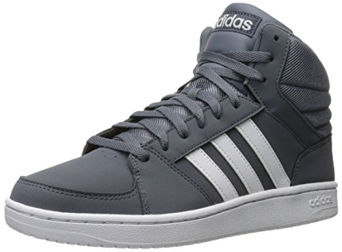 Adidas Performance Mens Vs Hoops Mid Fashion Sneaker Onix / Bianco / Bianco