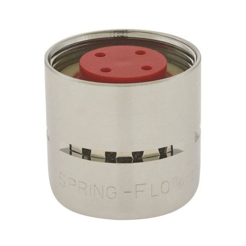 3//4-27 Threads 3//4-27 Threads Neoperl 15 0800 3 Standard Flow Spring-Flo Female Aerator Chrome Finish 2.2 GPM 3 Screens Aerated Small Pack of 6