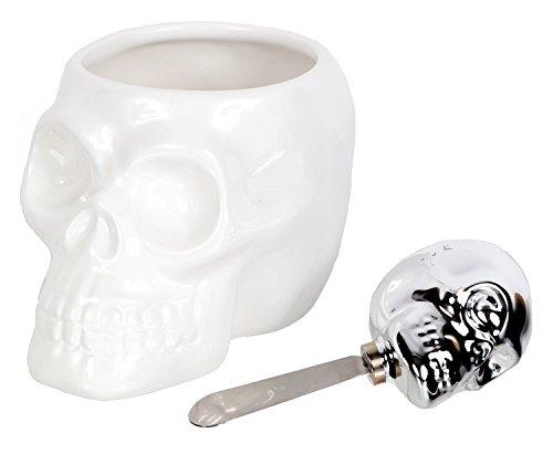 Halloween Spinach Dip (DEI Skull Head Dip Bowl & Spreader)
